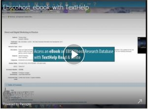 TextHelp Video - click